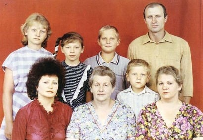 Emelianenko family photo